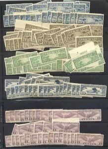 U.S. Mint Airmail Stock ($1,100)