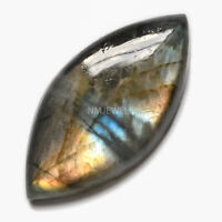 Cts. 25.10 Natural Spectrolite Labradorite Cabochon Marquees Cab Loose Gemstone
