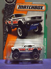 2017 Matchbox Metal '68 FORD MUSTANG Collector No.#124 of 125, Mint Long Card.