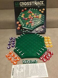 Crosstrack The Unique Track Switching Board Game / Complete / Family Fun