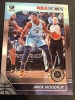 Jaren Jackson Jr 2019-20 Panini NBA Hoops Premium Stock Base #90 Grizzlies