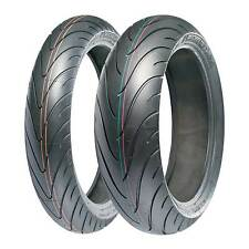 Michelin Pilot Road 2 Motorcycle/Bike Tyre - 120/70/17 and 180/55/17 Pair