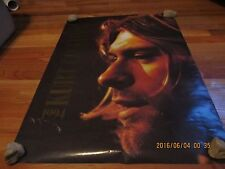 "1967- 1994 Kurt Cobain Tribute Poster Printed In England 23.5"" X 33"""