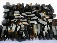 1LB Natural Smoky CITRINE Quartz Crystal Point Madagascar Polished