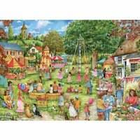 Otter House 1000 Piece Jigsaw - Village Fete - 74746