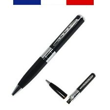 STYLO ESPION CAMÉRA HD 1280 X 960 (VIDEO, AUDIO, PHOTO) / SPY PEN DVR CAMERA HD