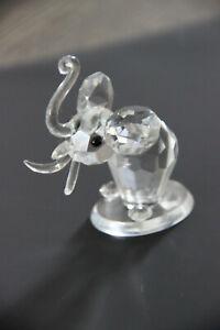 Crystal glass Swarovski Animal figurine elephant