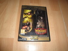 WARCRAFT 3 III REIGN OF CHAOS DE BLIZZARD PARA PC/MAC NUEVO PRECINTADO