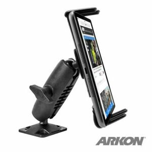 Smartphone Auto Truck Adjustable Drill-Base Heavy Duty Holder Mount f/Cell Phone