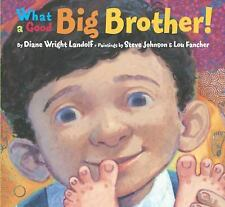 What a Good Big Brother! Picture Book