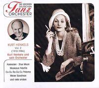 """DIE GROSSEN DEUTSCHEN TANZORCHESTER """"Kurt Henkels & sein Orchester"""" Vol.2 NEU"""