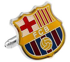barcelona fc cufflinks cuff link soccer football gift barca messi suarez neymar