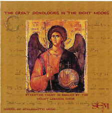 The Great Doxologies Hymns in 8 Modes of the Orthodox Church (English) -CD - NEW