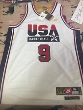 Nike Michael Jordan #9 USA Basketball 1992 Olympics Dream Team Jersey Mens XL