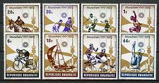 Rwanda 1972 MNH Summer Olympics Munich 8v Set Hockey Football Sailing Stamps