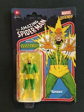 2021 Electro Hasbro Kenner Marvel Legends Retro, New In Package figure