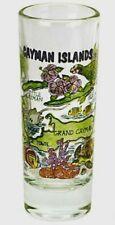 CAYMAN ISLANDS MAP SHOOTER SHOT GLASS SHOTGLASS