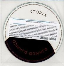 (DD481) Django Django, Storm - 2012 DJ CD