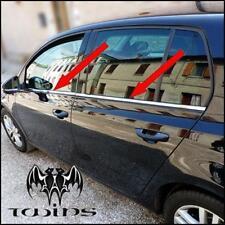 Strisce Cromate sotto finestrini Acciaio VW Golf VI 6 raschiavetri Profili