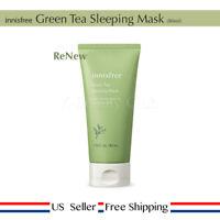 innisfree Green Tea Sleeping Mask 80ml 2019 NEW + Free Sample [ US Seller ]
