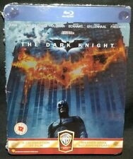 The Dark Knight Steelbook Blu-ray 2-Disc UK IMPORT - NEW REGION B