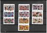 FRANCE 2019.INSPIRATION AFRICAINE. LOT DE 10 TIMBRES AUTOADHESIFS CACHETS RONDS