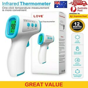 Digital Infrared Forehead Thermometer for Adult kid Baby Non Contact Medical Gun