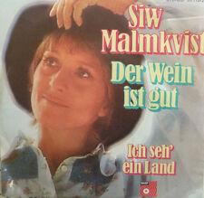 """7"""" 1972 ! SIW MALMKVIST : Der Wein ist gut  /MINT-?"""