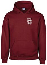BURNLEY 3 LIONS CLUB AND COUNTRY SMALL CREST HOODIE MENS