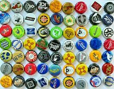 500 {Mixed} [assorted] Beer Bottle caps, DENT-FREE, Unique Colorful Blend