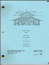 "HOME IMPROVEMENT show script ""Flying Sauces"""