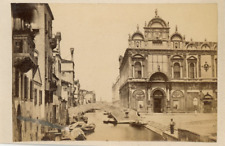 Italia, Venezia, Scuola Grande di San Marco  Vintage albumen print. Vintage Ital
