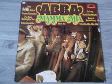 "ABBA ""Benny & Björn Ulvaeus"" Autogramme signed LP-Cover ""Mamma Mia"" Vinyl"