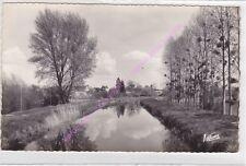 CPSM 41140 NOYERS sur CHER Canal de Berry Edt VALOIRE