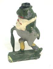 Vintage Britain's Cadbury Cococub FREDDIE FROG, Lead Figure 1930s