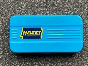 Alter HAZET 852 Steckschlüsselsatz Knarrenkasten 1/4 Zoll - Guter Zustand