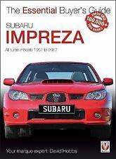 Subaru Impreza: la guía del comprador esencial por David Hobbs   Libro De Bolsillo   97
