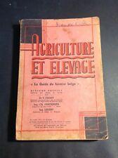 Horticulture - Agriculture et élevage - Le guide du fermier belge - Fagot - B18