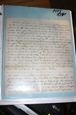 #A157,Post Civil War Letter,Great Content,Talks About 2nd Rebellion etc