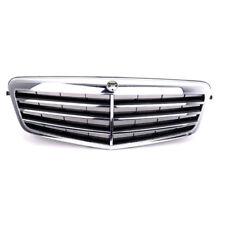 For Mercedes Benz W212 E550 E350 E63 10-13 Front Hood Grill Grilles Black Chrome