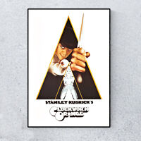 A Clockwork Orange Stanley Kubrick Film Movie Glossy Print Wall A4 Poster