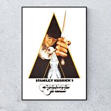 A Clockwork Orange Stanley Kubrick Film Movie Glossy Print Wall A4 Poster