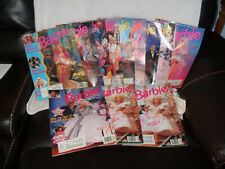 Barbie The magazine for Girls 1 Holiday 1992 Lot 12 range 1992-1995 see desp.