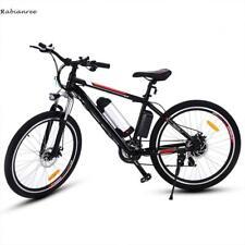 26 Zoll E-MTB Elektrofahrrad MountainBike E-bike 21 Gang Shimano 35km/h Schwarz
