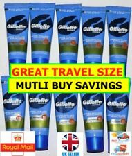 GILLETTE Pre Shave Thermal Scrub 23ML - MULTI BUY BARGAINS Perfect Travel Size!
