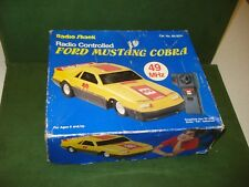 1970's RADIO CONTROLLED FORD MUSTANG COBRA by RADIO SHACK