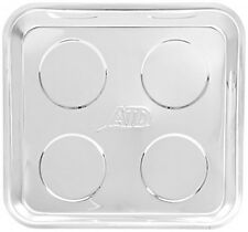 Atd Tools 8762 Stainless Steel Square Magnetic Parts Tray, New, Free Shipping