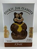 Jonal - Cookie Jar Classics - Bear - Hand-Painted - New in Box