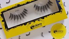 Eldora False Eyelashes H163 Human Hair Strip Lashes