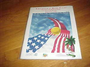 1994 America's Red Clay Tennis Championship Tennis Program Coral Springs
